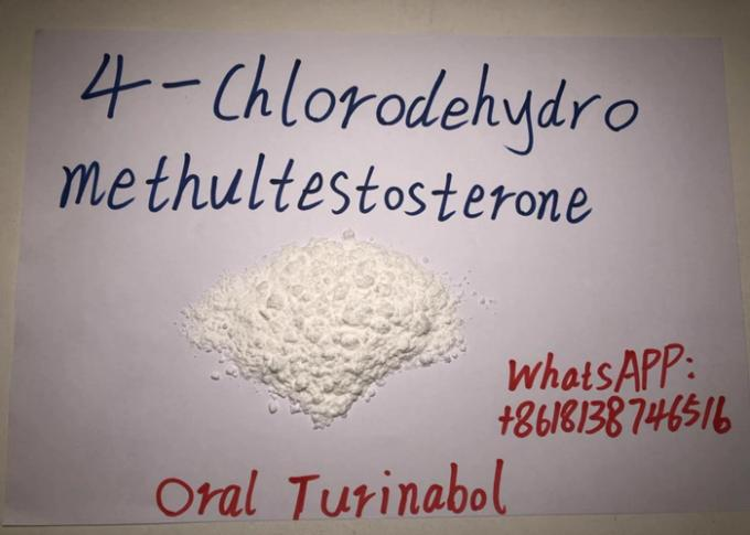 Oral Turinabol Raw Steroid Powders 4 - Chlorodehydromethyltestosterone USP36