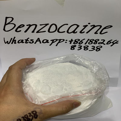 China Pure Local Anesthetic Powder Benzocaine Topical Anesthetic Powder supplier