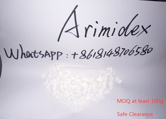 China Anastrozole / Arimidex Legal Anabolic Steroids Treatment Of Breast Cancer supplier