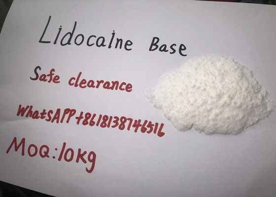 China Lidocaine Base Lidocaine Hydrochloride Powder Safe Clearance MOQ 10kg supplier