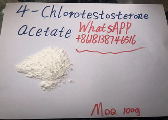 99% Pure 4- Chlorotestosterone Acetate Raw Steroid Powders Clostebol Acetate