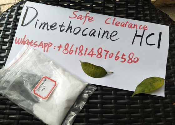 China Dimethocaine Hydrochloride Powerful 99% Pure Larocaine HCl Powder For Pain Killer supplier