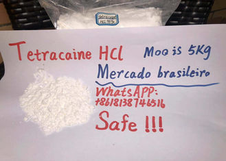 China Safe clearance high quality Tetracaine Hydrochloride Powder Brazilian market supplier