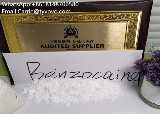 China Benzocaine Tetracaine Hydrochloride Powder Impurity Safe Clearance distributor
