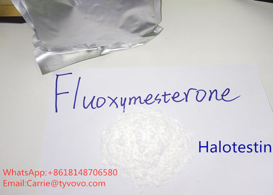 China Fluoxymesterone Raw Testosterone Powder 99% Assay Halotestin Fitness Steroids distributor
