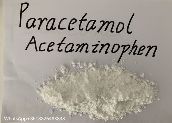 China Acetaminophen And Paracetamol Raw Powder Safe Clearance With 99% Pure factory