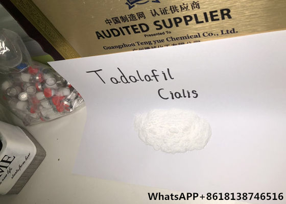 China Tadalafil Pharmaceutical Raw Materials Cialis Male Sexual Arousal distributor