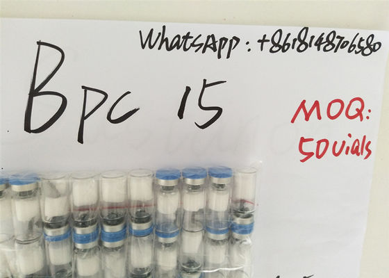 China 99.5% Purity Human Growth Hormone Peptide Pentadecapeptides BPC 157 2mg Vial factory