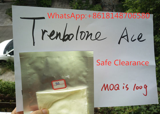 China 99.5% Pure Trenbolone Acetate Powder Steroid Recipes For Bodybuilding distributor