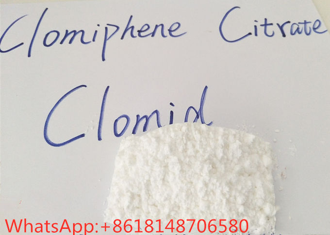 99 Pure Clomiphene Citrate Clomid , Injectable Steroids For Bodybuilding Hot Sell