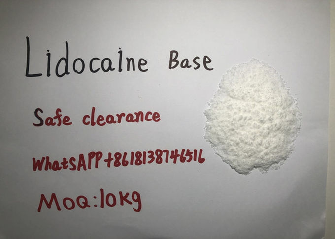 Lidocaine Base Lidocaine Hydrochloride Powder Safe Clearance MOQ 10kg
